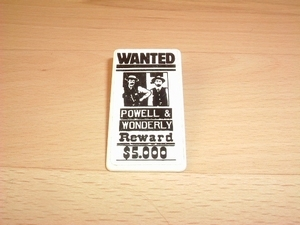 Affiche Wanted Powell