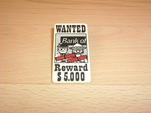 Affiche Wanted bank
