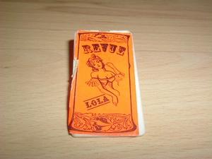 Affiche Revue orange