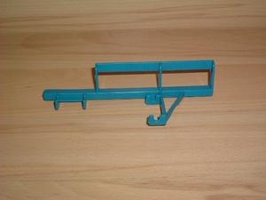 Barrière bleue pour support cloche