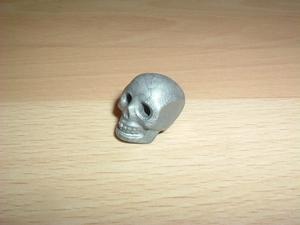 Crâne gris neuf
