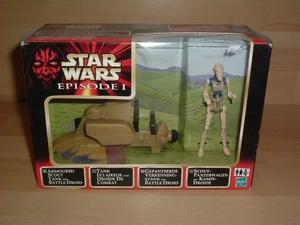 Tank Eclaireur avec droïde de combat