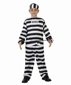 Deguisement costume Bagnard Prisonnier 5-6 ans
