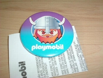 Badge Playmobil Viking neuf