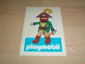 Autocollant Pirate playmobil neuf