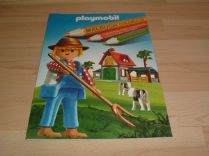 Coloriage Ferme playmobil neuf