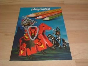 Coloriage Chevaliers playmobil neuf