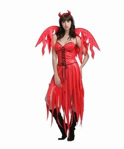 Deguisement costume Diablesse rouge sans ailes