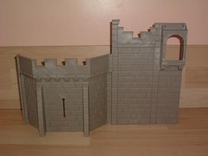Grand mur droit