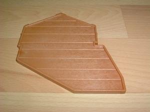 Petit plancher marron