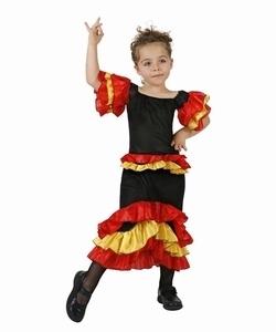 Deguisement costume Danseuse Rumba 7-9 ans