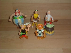 Lot figurines Astérix