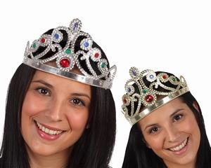 Couronne diadème princesse argent