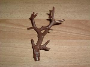 Branche marron grand modèle
