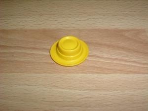 Chapeau rond jaune