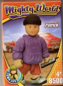 mighty world personnage Patrick neuf