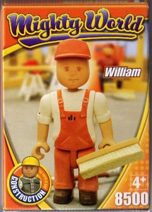 mighty world personnage William neuf