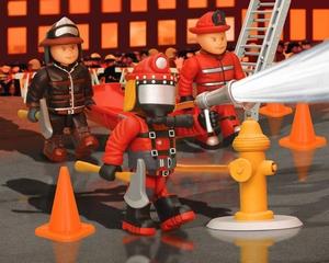 mighty world  set pompier neuf