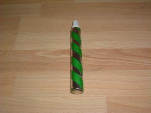 Cotillons  tube lance boules vert neuf