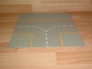 Plaque grise route