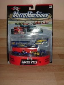 Micro Machine F1 bleu neuf