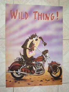 Taz à moto