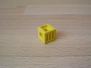 Cube jaune