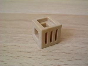 Cube beige