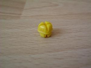 Crochet de fixation jaune