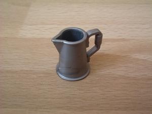 Cafetière argentée