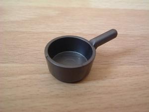 Casserole gris foncé