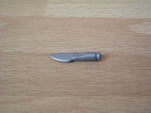 Couteau argenté