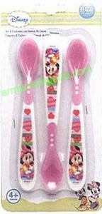 Cuillères thermosensibles Disney rose  X3