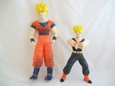 Lot personnages Dragon Ball en l'état