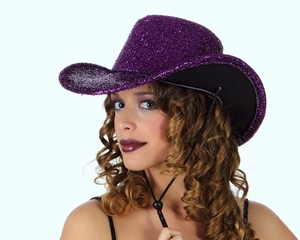 Chapeau disco rose