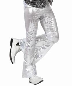 Deguisement costume Disco Pantalon blanc