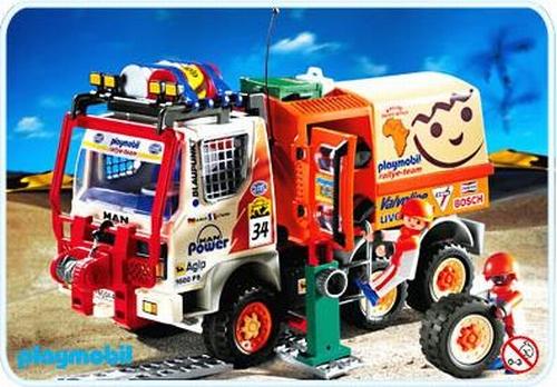 Playmobil Pilote camion de rallye 4420