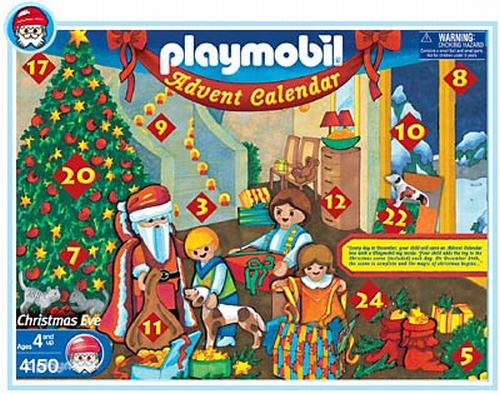 Playmobil Calendrier De L'avent Enfants /Cheminée 4150