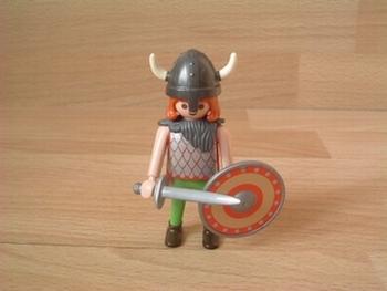 Viking bouclier rouge