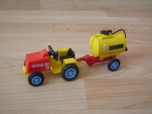 Tracteur citerne enfant