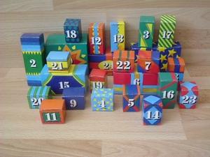 Boites playmobil pour calendrier de l'avent