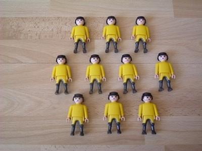Chevalier jaune x 10