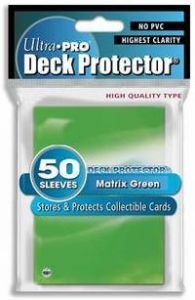 50 Pochettes Ultra Pro DECK PROTECTOR green neuf