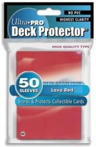 50 Pochettes Ultra Pro DECK PROTECTOR red neuf