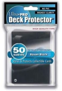 50 Pochettes Ultra Pro DECK PROTECTOR black neuf