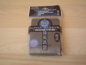 50 Pochettes Alpha Sleeves noires neuf