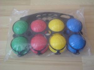 Boules de pétanques plastiques neuves