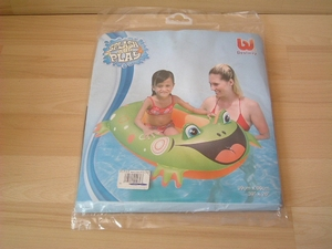 Bateau gonflable grenouille 99x66 cm neuf