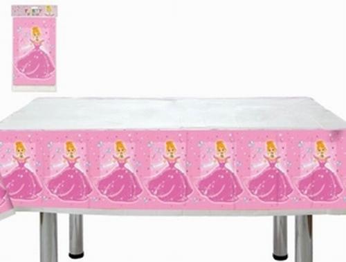Nappe plastique Princesse 137x182 cm