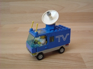 Camion de télévision